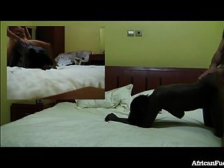 Hotel Sex With Hot African Girl!