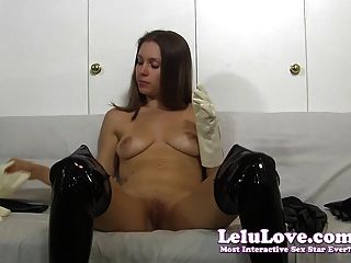 I Masturbate In Lots Of Different Types Of Gloves