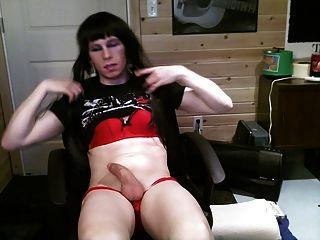 Ashley Valentine Sissy Panty Play