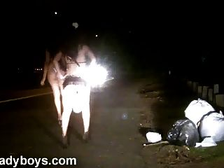 Nikki Ladyboys Working Naked On The Street