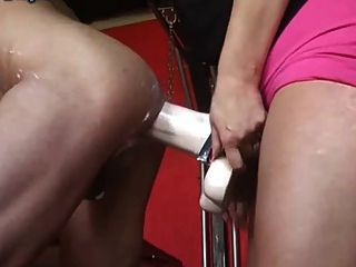 Sexy Bitch - Fucking Slave With Monster-strapons