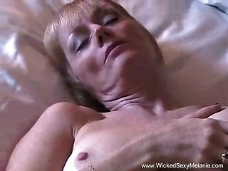 Mom Gets Creampied In Hotel Room
