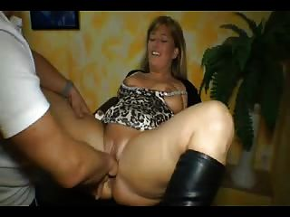 Chubby german milf
