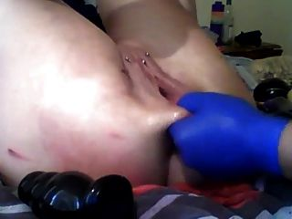 Sexysasha Fist Anal Pussy Toys