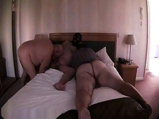 Chub Daddy Threesome
