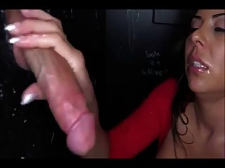 Awesome Gloryhole Cocksucking