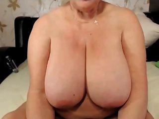 Blonde Granny Big Tits