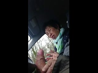 Granny Handjob #6 Chinese Sous-chef, Happy Ending Takeaway