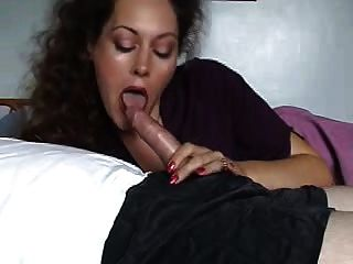 Giving great hand job mature woman wife
