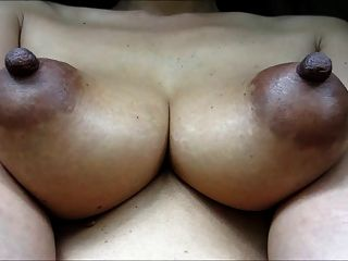 women Mature breast African Puffy
