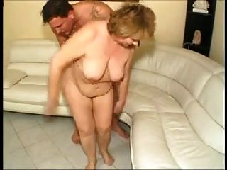 Hungarian Bbw Granny Fucked On The Sofa (anal)