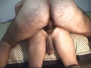 Hairy Daddy Fucks Small Ass Hard