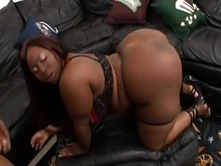 Bbw Ebony Fat Ass - Cum In Mouth