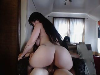 Amateur Pawg Rides Dick For Cam