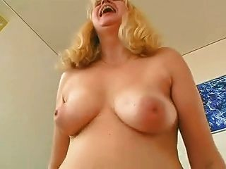 Chubby Hairy Mature Fucks In The Couch