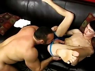 Joslyn james dominates step son to teach him 5