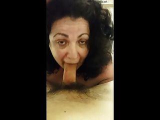 Bbw Sucks And Fucks Until She Gets Cum Out.