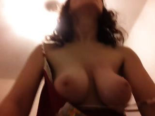 Mature big tits riding
