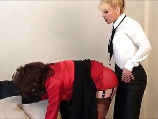 Slutty Secretary Angelica Fucked By Madame C