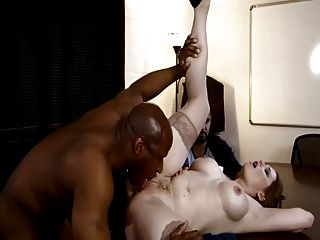 Horny Boss Fucked Infront Her Stupid Husband
