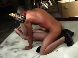 Muscle Daddy Rough Fucks Twink