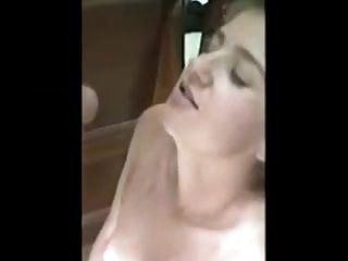 Young Amateur Couple Cum Kiss After Facial