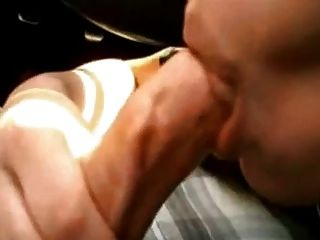 Car Blowjob Ends With Cum In Mouth And Swallow 4