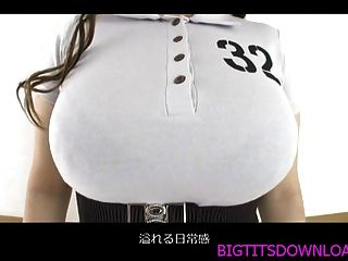 Big Tits Asian Posing