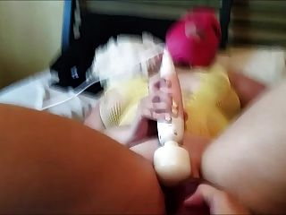 Dildos In All Holes, Squirting Orgasms With Wand
