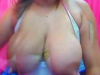 Latina Very Big Pink Nipples On Brown Areolas