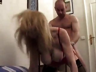 Indecent Busty French Mature - Ass Fucked