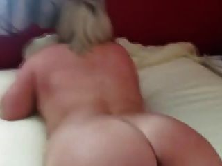 Hot Chubby Blonde Fisted To Orgasm