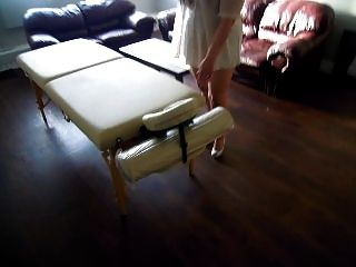 Let Me Show You My Place And New Massage Table Dear :)