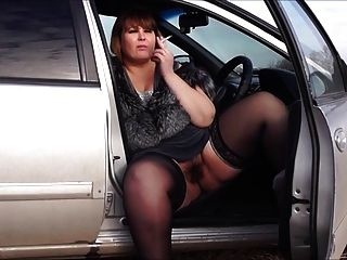 Eros & Music - Bbw By A Pussy Hairy, Smoke In The Car