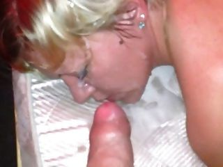 Russian Cuckold With Facial On Wife