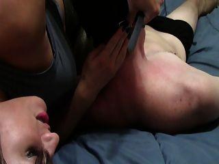 Scissoring Foot Teasing Handjob
