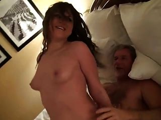 Young Girl Fucks Older Guy