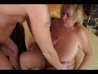 granny saggy pussy big Chubby tits