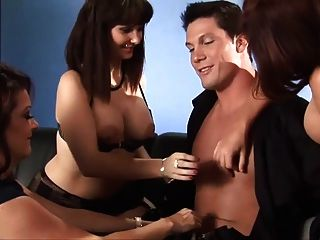 3 Sexy Milfs Great Scene Take Great Cumshot