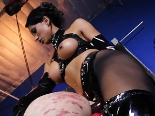 Mistress Fucking Her Slave Boy Like The Slave He Is.
