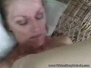 Slut Melanie Fucks For Real