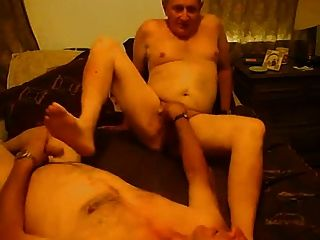 Grandpas Lovers Face Fuck