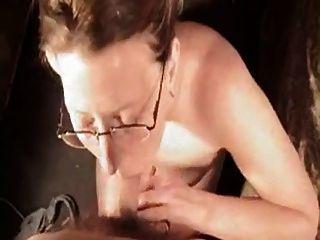 Dawna Deep Throats Huge Cock And Gets Cum