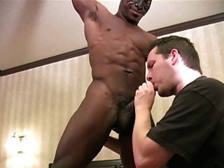 Worship Black Muscle Boy