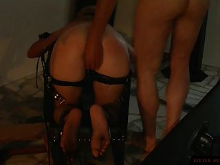 Bdsm Using Ass And Pussy Of The Bound Little Sunshine Milf