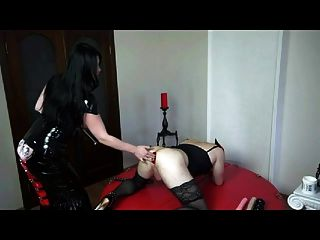 Mistress, Crossdresser, Fisting And Prolapse By Cezar73