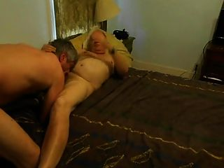Grandpas Lovers In Bedroom