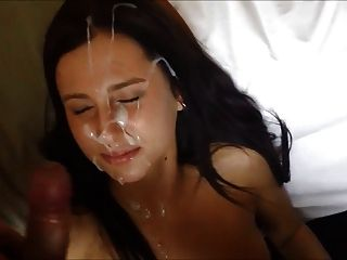 Homemade, Loads Of Cum In Her Face (first Time)