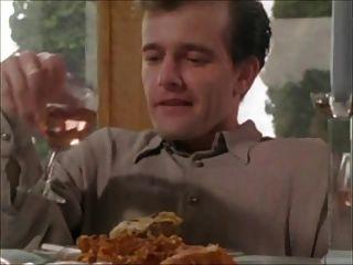 Dinner Party Footjob