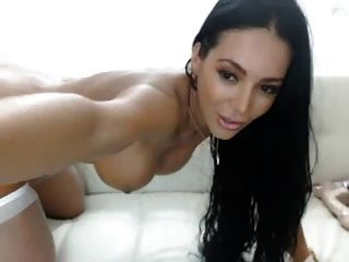 Beautiful Latin Babe Toys On Cam
